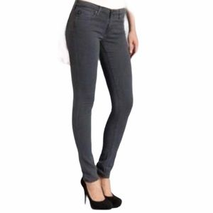AG Grey Premier Skinny Straight Mid Rise Jeans 29